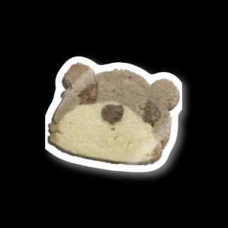 クマバチゴルフ倶楽部のクマさんクッキー Stickers