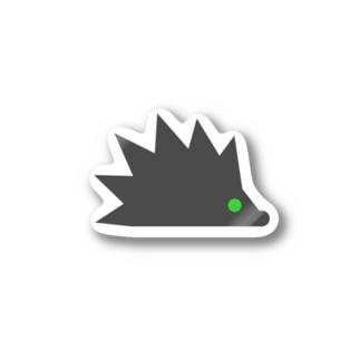 ハリネズミのちぐさステッカー Stickers