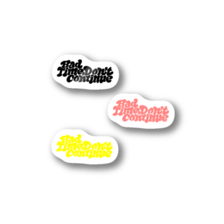 SPOTLIGHTのBTDC(3 colors) Stickers