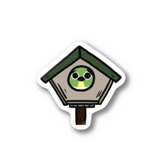 メジロちゃんat home Stickers
