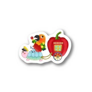 ROBOBO カメタクシー🚕 Stickers