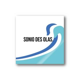 SONIO DES OLAS. ▶︎▷ logo-products Stickers