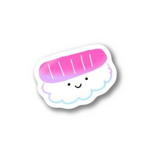 お寿司パクパクの助 Stickers