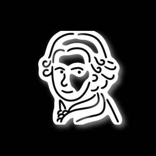 Aliviostaのモーツァルト イラスト 3 Stickers