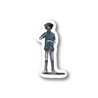小島 Stickers