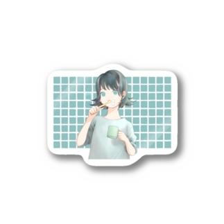 歯磨き Stickers