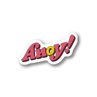 AHOY! for show! Stickers