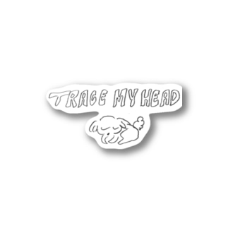 Trace My Head Stickers