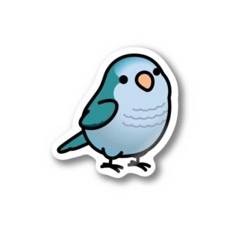 Chubby Bird オキナインコ Stickers