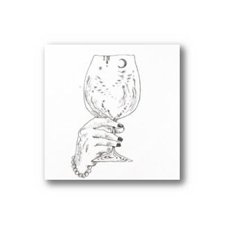 ワイングラス ステッカー