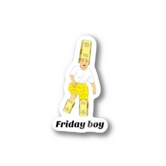 Fridayboyステッカー Stickers
