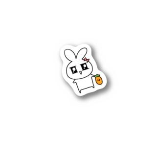 うさびーステッカー Stickers