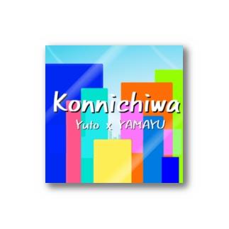 Yamayu&Yuto - Konnichiwa Stickers