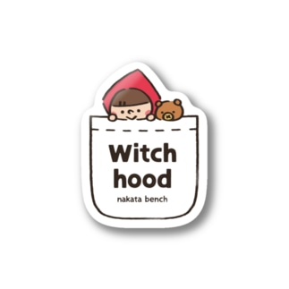 Witch hood(ポケット) Stickers