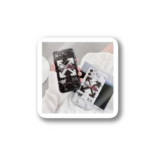off-white iPhone11pro/Pro Max携帯カバー ペアケース 可愛い  アイフォン11Pro Max/11 pro/xr/xs maxケース シャネル おしゃれ Stickers