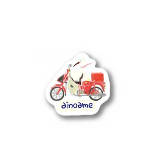 コウノトリ Stickers