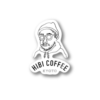 HIBICOFFEEofficialgoods‼︎ Stickers