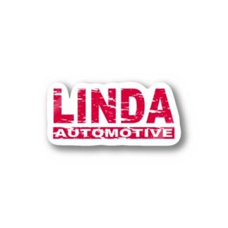 車店 輪駄のLINDA バンパーステッカー Stickers