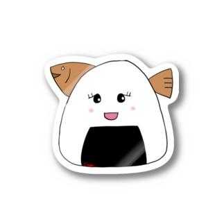 おにぎりへし子 Sticker