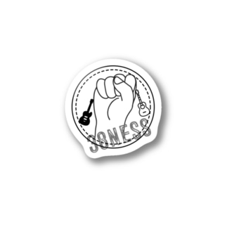 38nessロゴステッカー Stickers