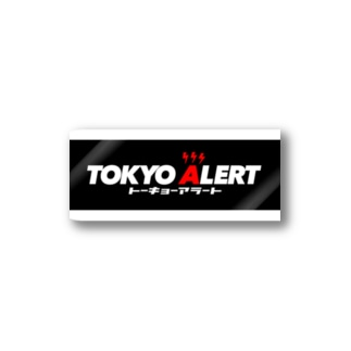 TOKYO ALERTステッカー Stickers
