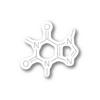 カフェインの構造式 Sticker