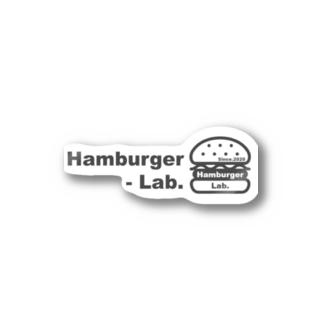 Hambuger Lab. Logo 2 Stickers