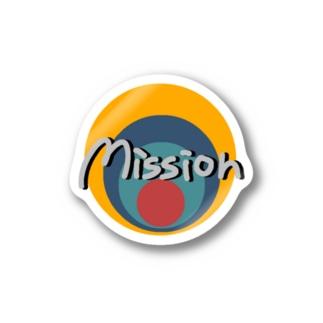 MamolllluのMissionバキュン Stickers