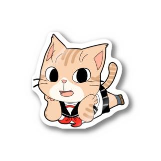 JKにゃんこちゃん Stickers