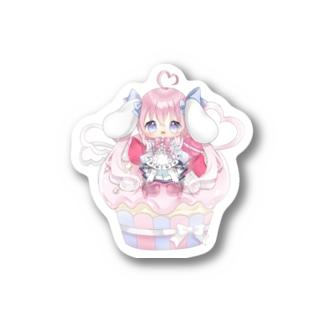 カップケーキななのちゃん! Stickers