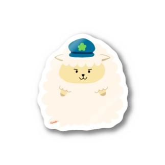 警察官シープ Sticker