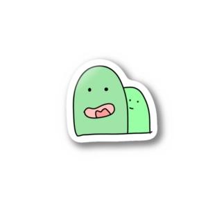 空気の読めないオヤマ Stickers