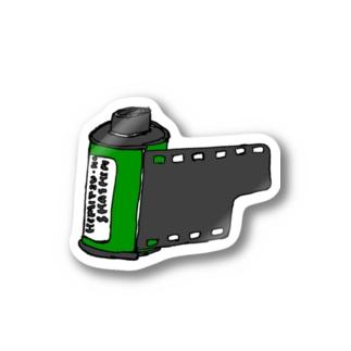フィルム緑 Sticker