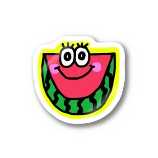スイカくん🍉💗 Stickers