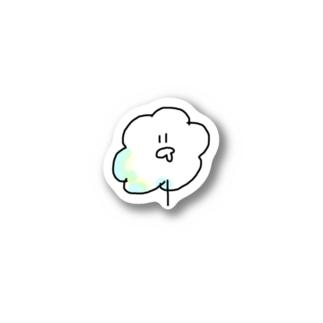 わたがしちゃん Stickers