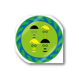 「snb-snpi」ステッカー Stickers