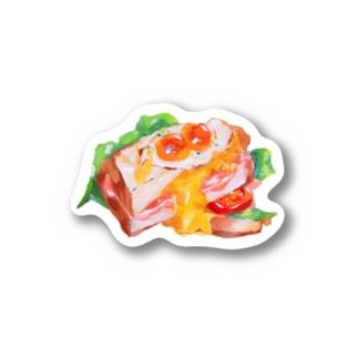 サンドイッチのグッズ Stickers