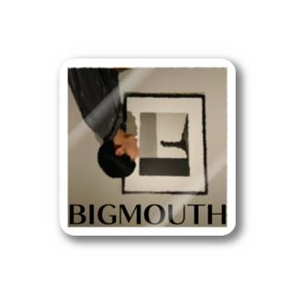 「big mouth」ステッカー Stickers