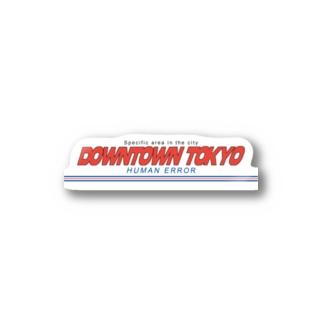 DOWNTOWN TOKYO Sticker