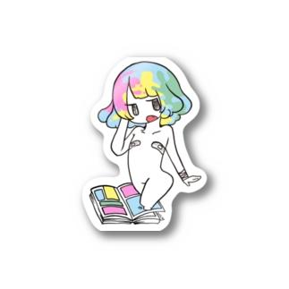 ばんそこゆめかわガールちゃん Stickers