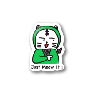 Just Meow It ! Stickers