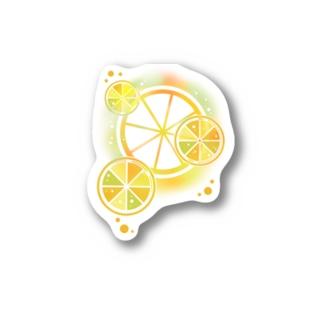 フレッシュオレンジ Stickers