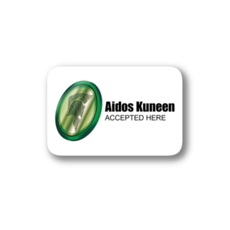 Aidos Kuneen Accepted Here Stickers