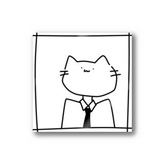 フォーマルな猫 Stickers