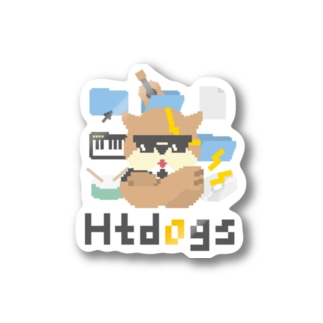 htdogs Stickers