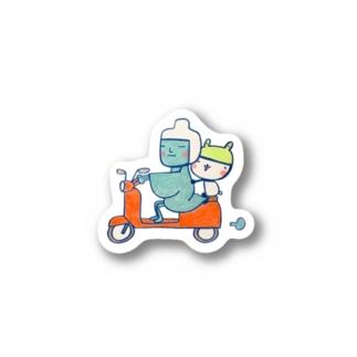 安全運転なのだ。すてっかー Stickers