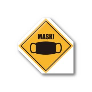マスク忘れてない? Stickers