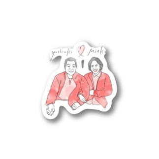 1000_sunnyのY♡M Stickers