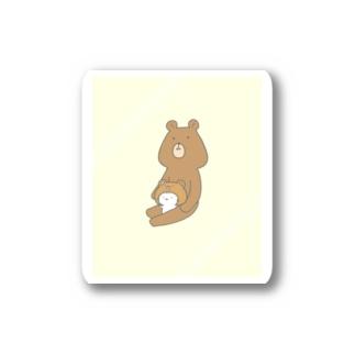 mamekodayoのくまのおともだち Stickers