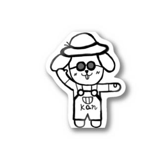 ごきげんかんちゃん Stickers